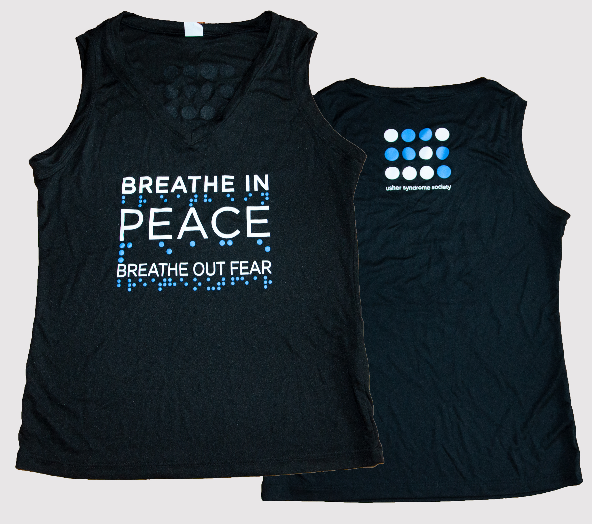 Breathe In Peace Athletic Womens Tank