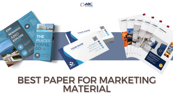 Paper Marketing Material