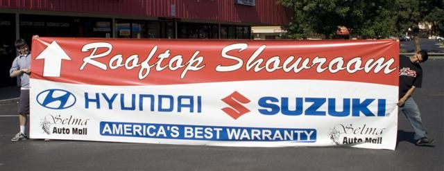 Rooftop Showroom banner