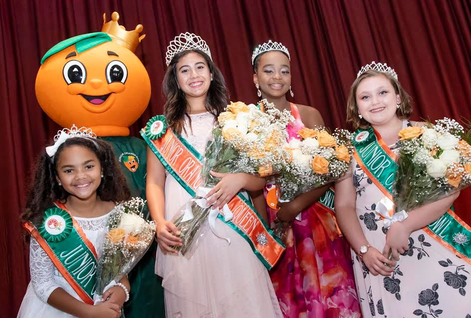 The Junior Orange Bowl Crowns New Royal Court