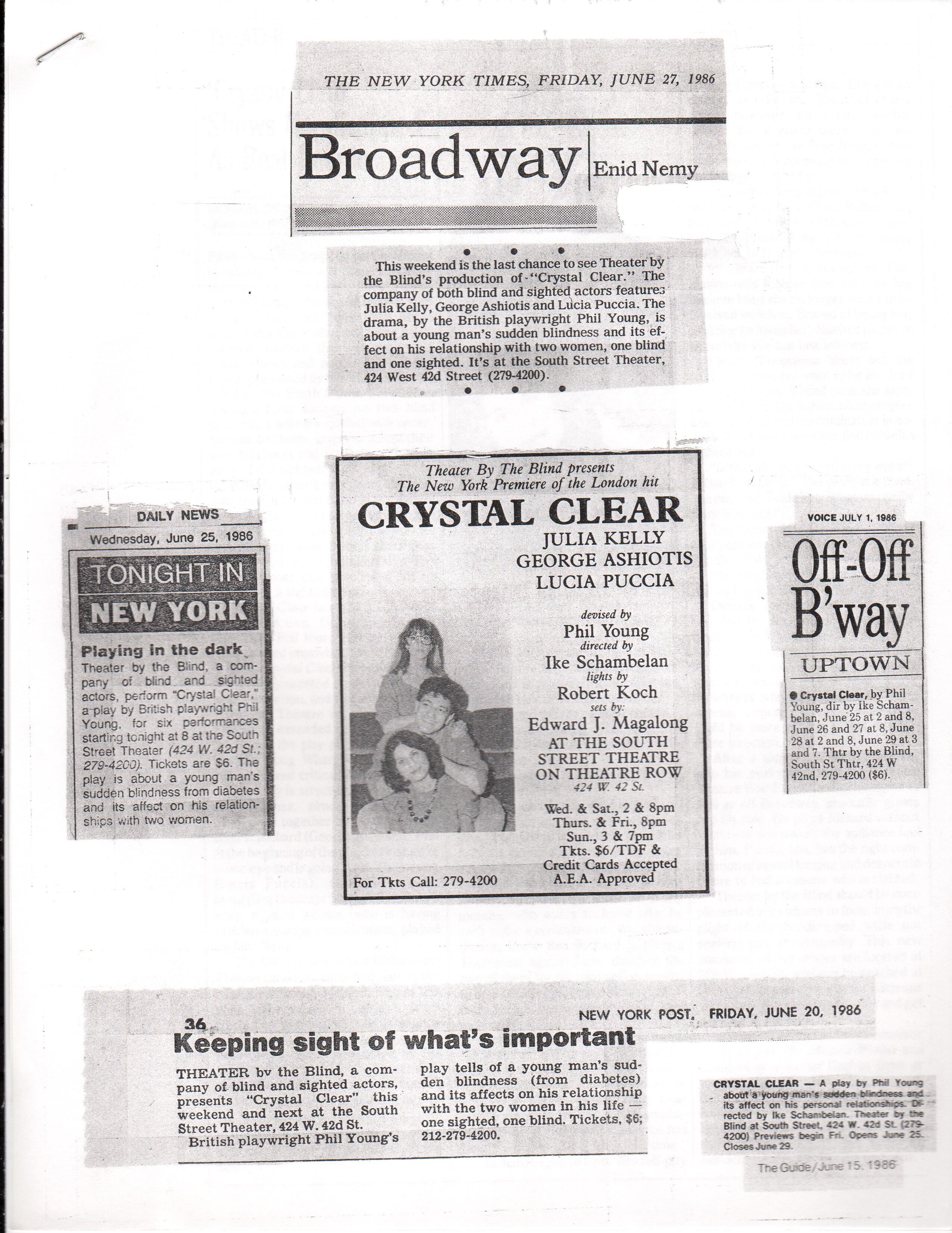Crystal Clear Press (1986)