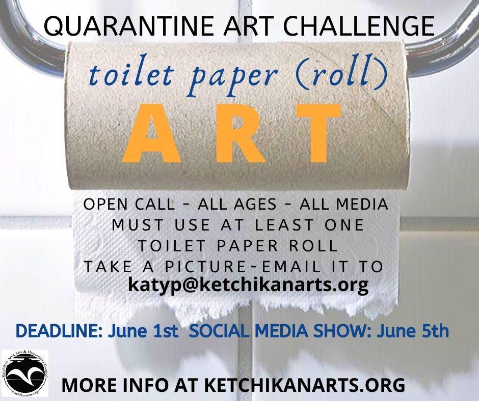 Toilet Paper Roll Art Challenge!