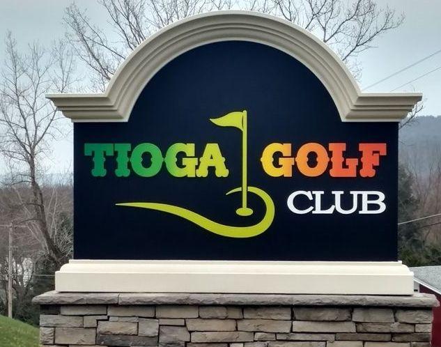 E14006 -  Golf Club Monument Entrance Sign