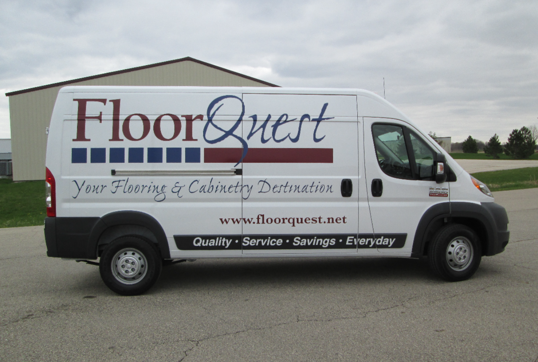 Floor Quest Vehicle Wrap