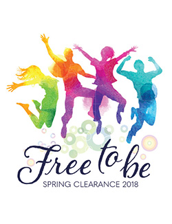 Spring Clearance 2018: Free To Be