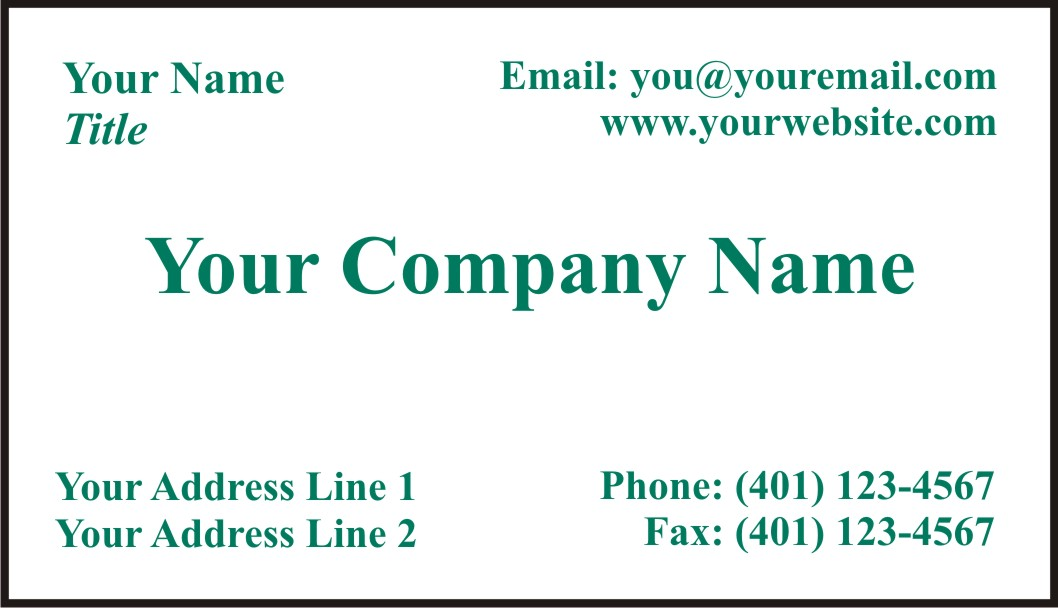 Special|Business|Card|Printing|Free|RI