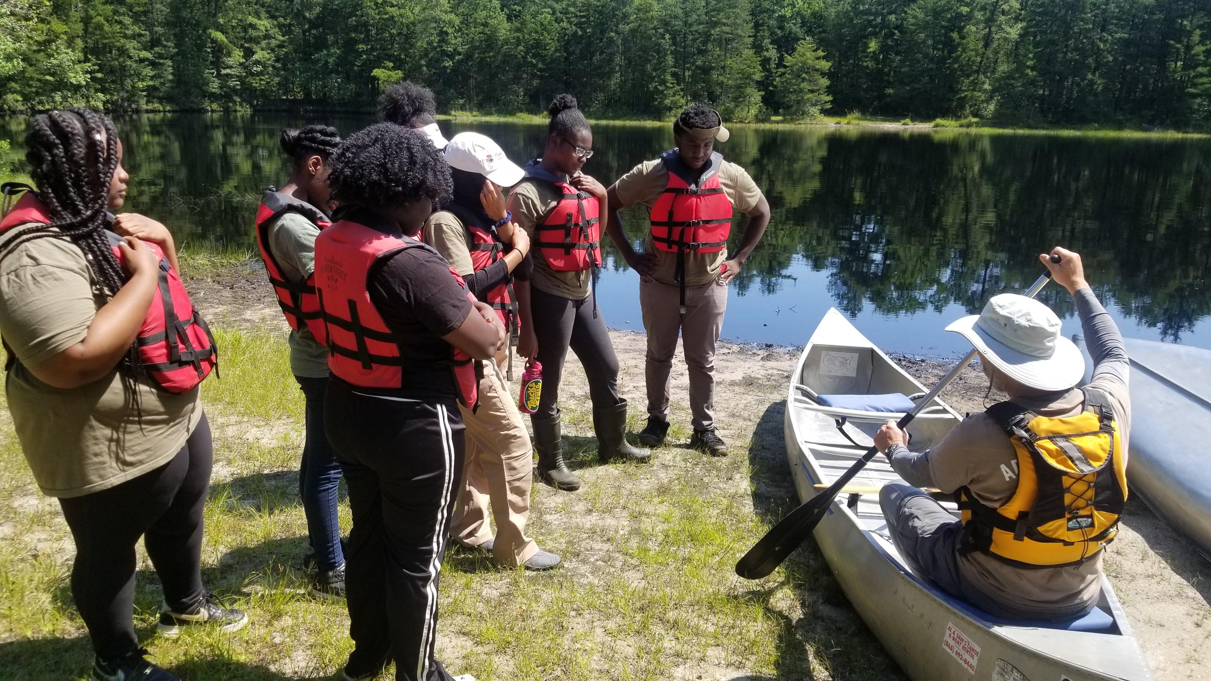 Sum 2019 // Canoeing