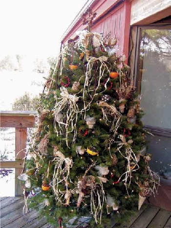 Creating a Holiday Wildlife Tree