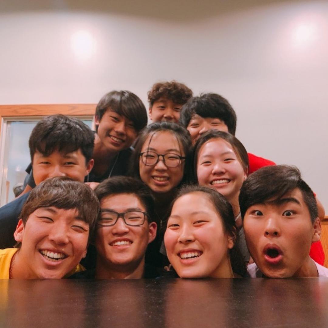 Calvary Korean UMC Youth Group Raises $1465 for Children in Foster Care