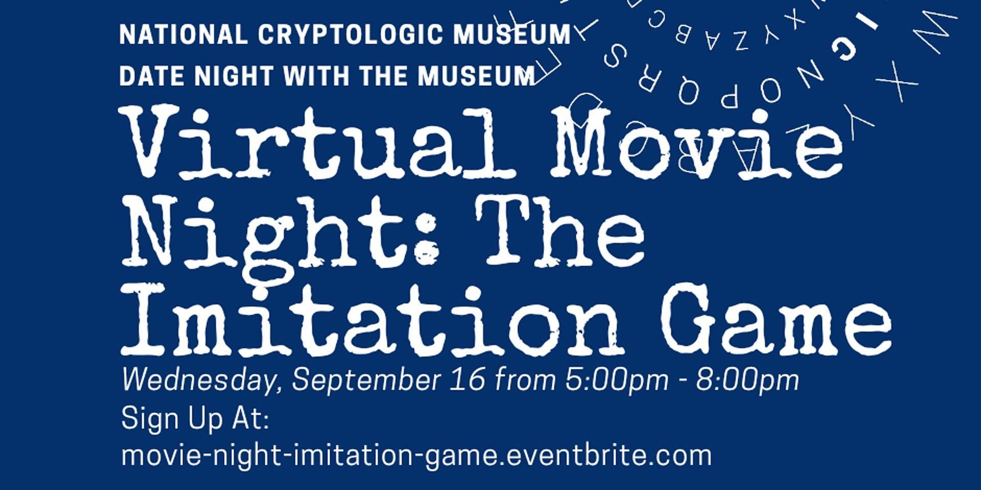 """NCM Virtual Movie Night: """"The Imitation Game"""""""
