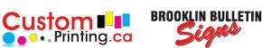 Custom Printing - Brooklin Bulletin Signs (The Brooklin Bulletin Publishing Co., Ltd.)