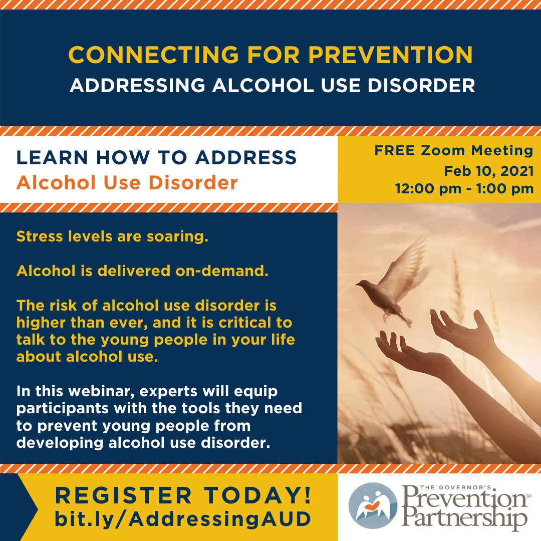 Connecting for Prevention: Addressing Alcohol Use Disorder
