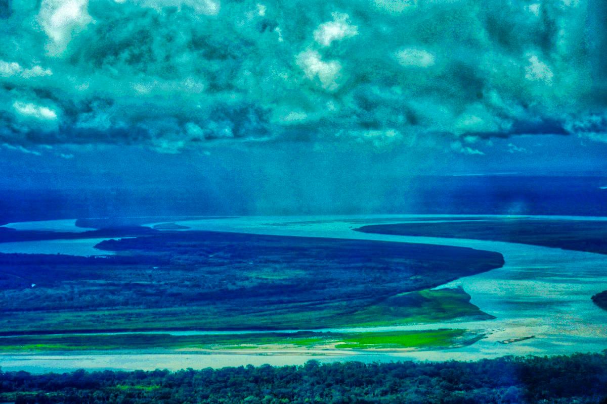 Storm over the Amazon