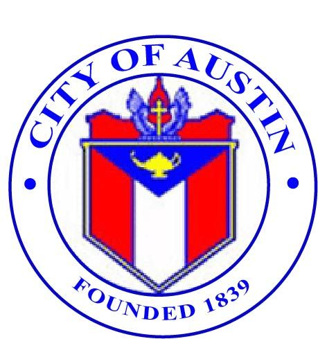 DP-1105 - Plaque of the Seal of the City of Austin, Texas, Giclee