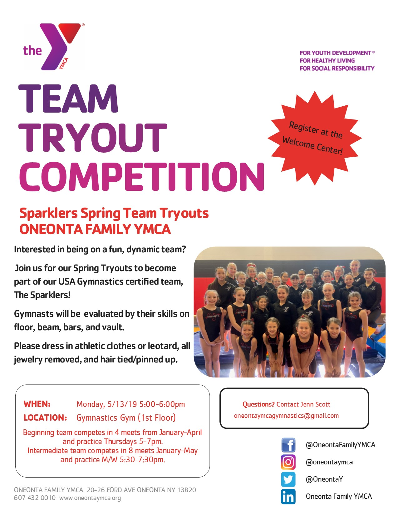Team Tryouts