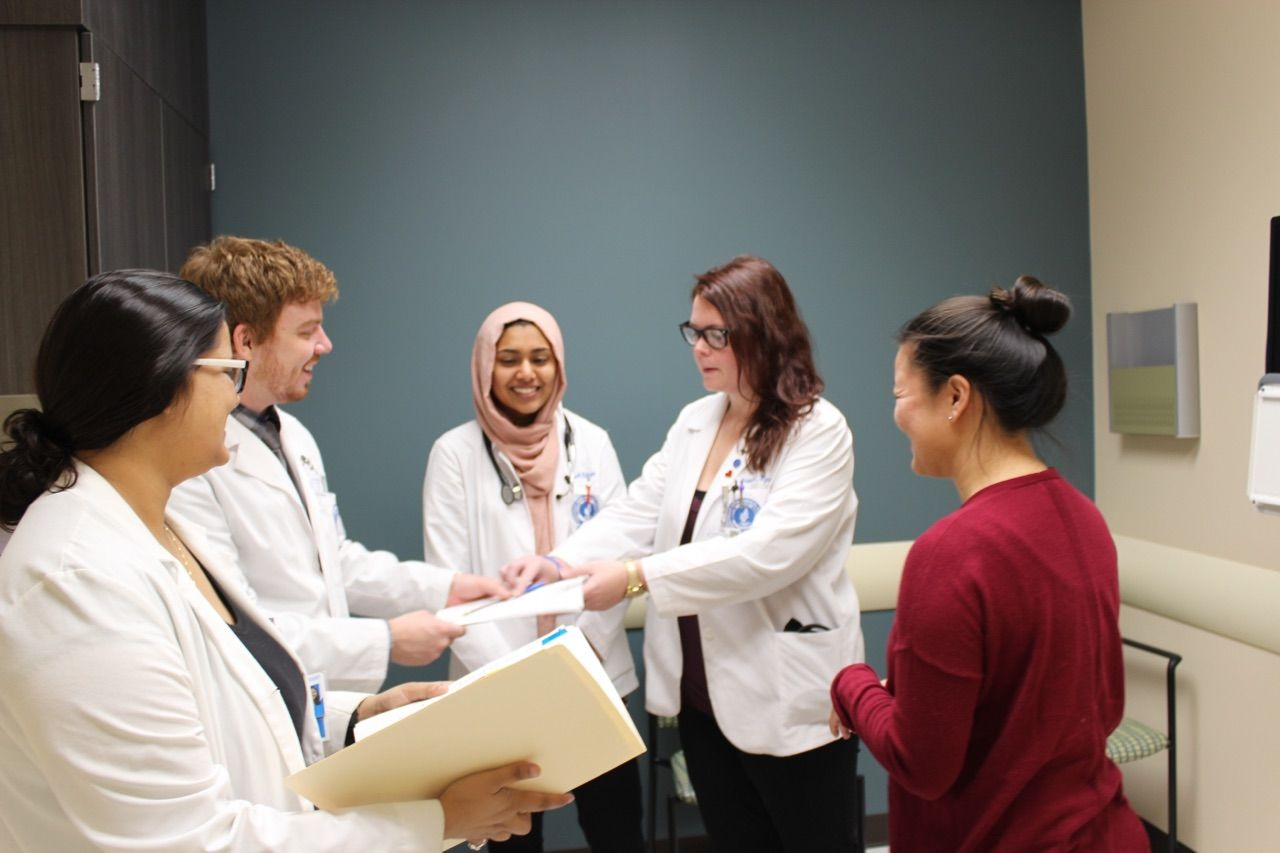 STUDENT RUN CLINIC RECOGNIZED AS 2020 FREE CLINIC OF THE YEAR AT OHIO FREE CLINIC APPRECIATION AWARDS