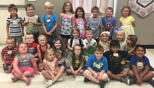 Kindergarten Readiness Class