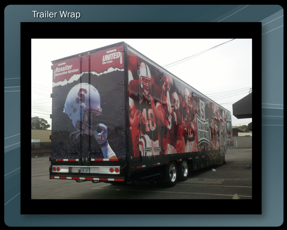 Moving truck wrap