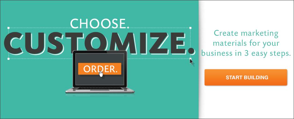 Choose Customize Order