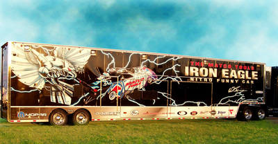 Semi Trailer Wrap 2