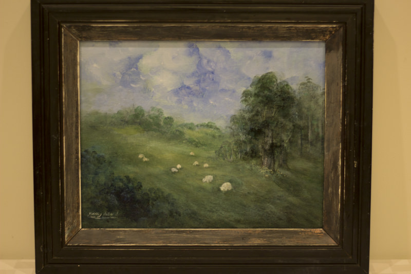 """A Quiet Time"" - Donated by the artist, Nancy Holland"
