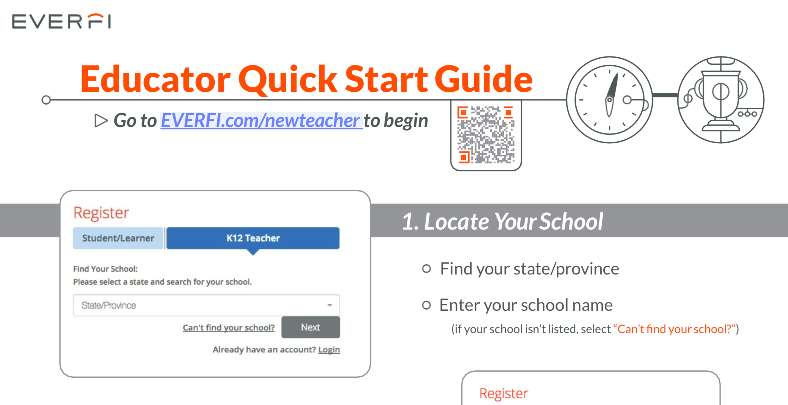 Quick Start Guide for Teachers