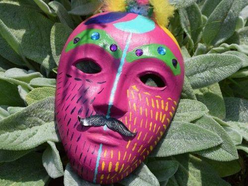 Celebrating Survivor's Masks
