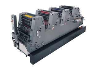 Heidelberg 4 color GTO 52-4