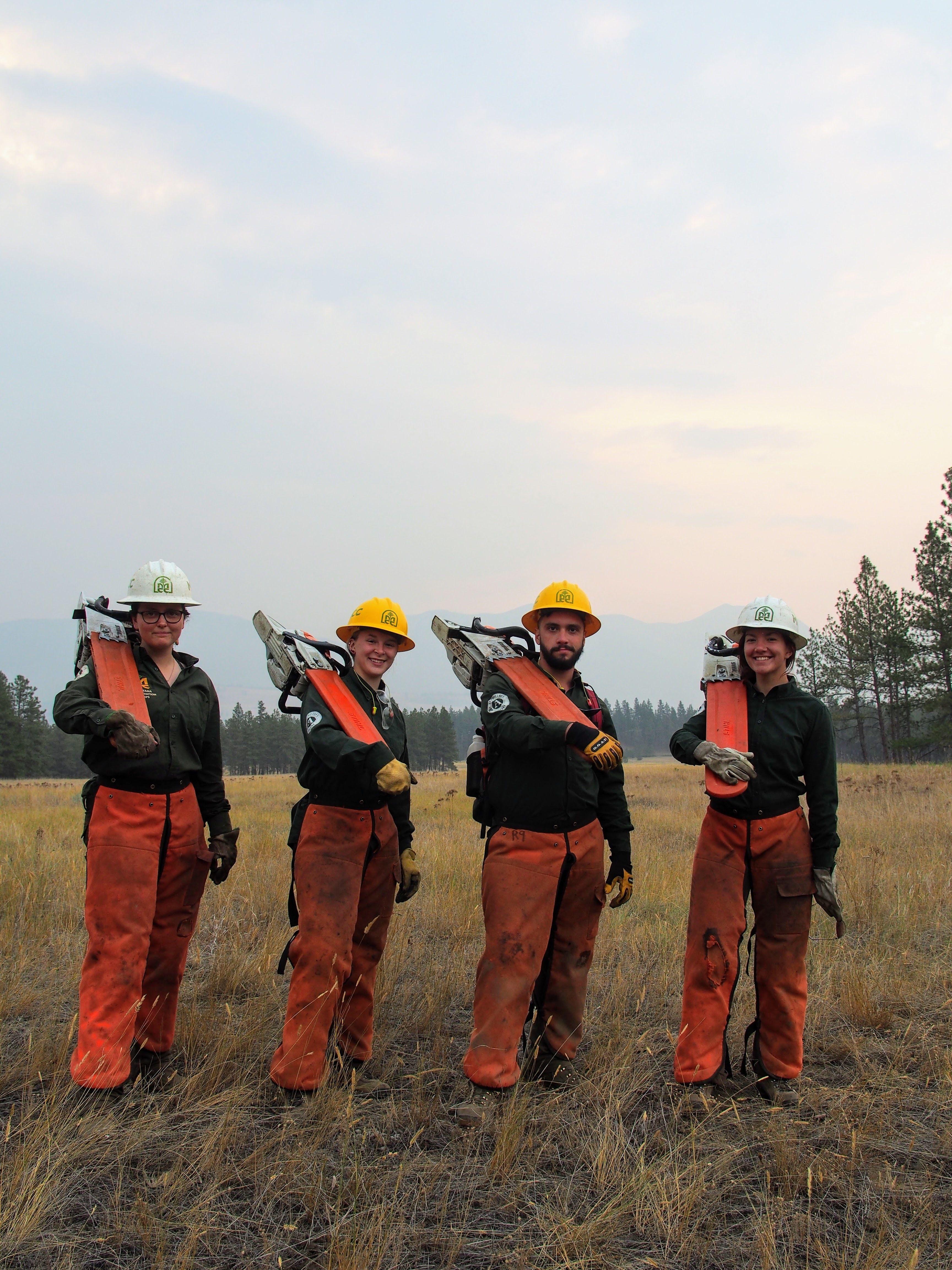 Crew 9 Battles back Forest Encroachment