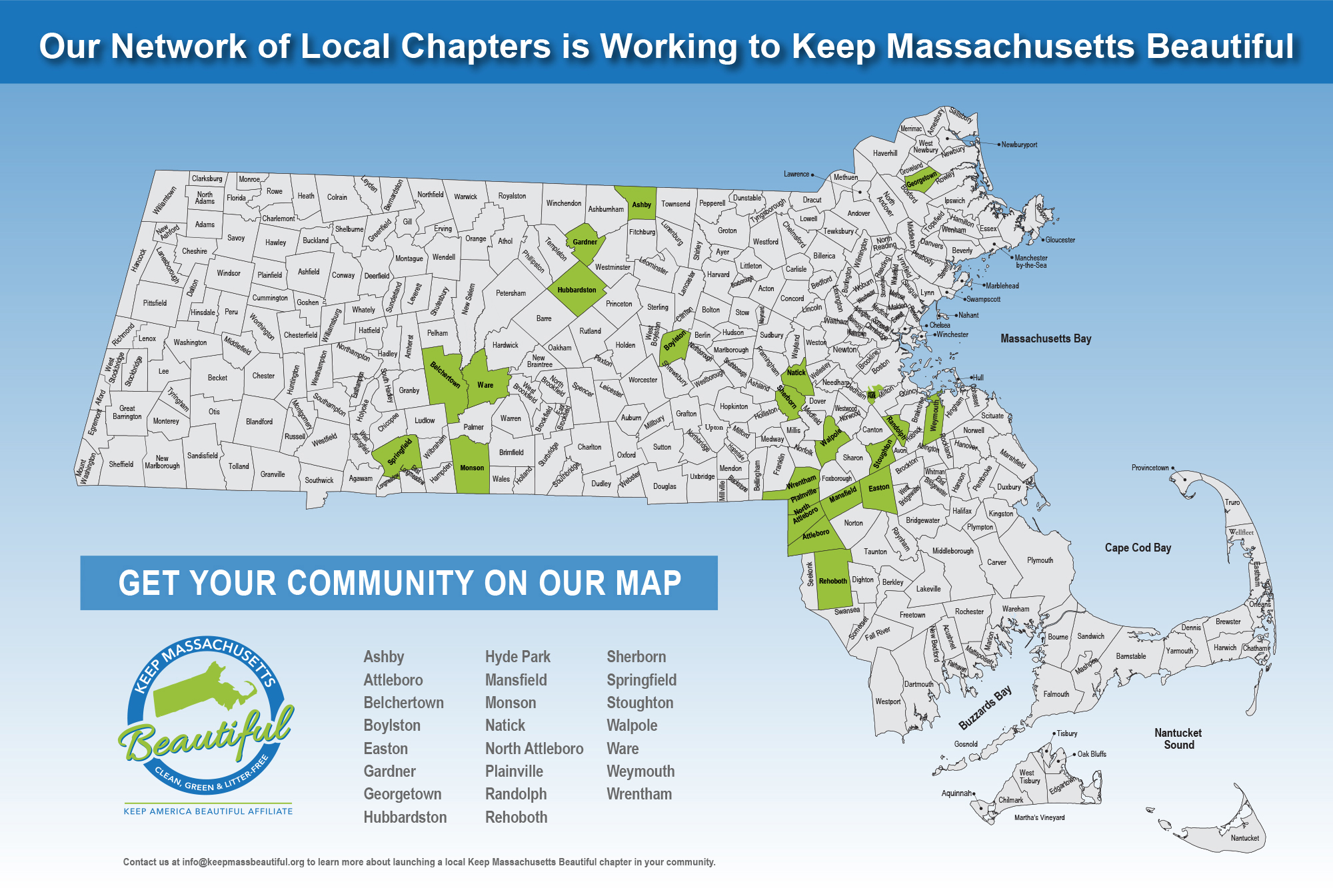 KMB chapter map