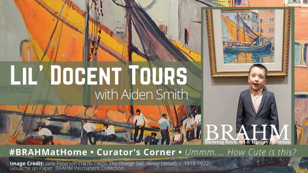 Curator's Corner: Lil' Docent Tours featuring Aiden Smith