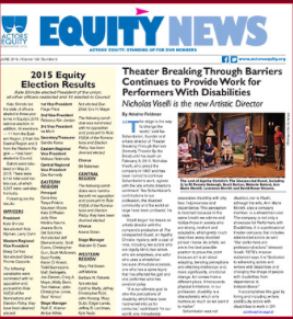 Theatre Breaking through Barriers Continues to Provide Work for Performers with Disabilities