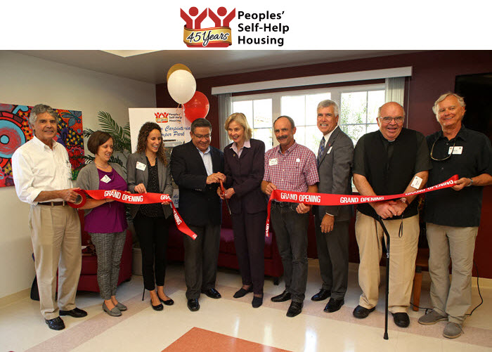 Peoples' Self-Help Housing Cuts Ribbon on 43 Affordable Apartments in Carpinteria
