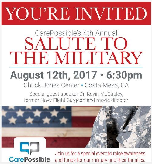 CarePossible's 4th Annual Military Salute