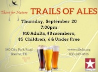 a Thirst for Nature event: Trails of Ales