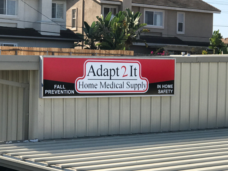 New facings for cabinet signs in Costa Mesa CA