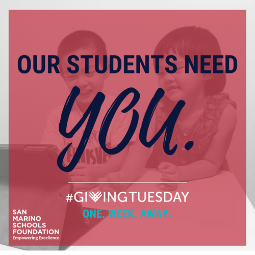 #GivingTuesday is ONE Week Away!
