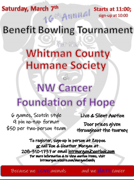 16th Annual Benefit Bowling Tournament