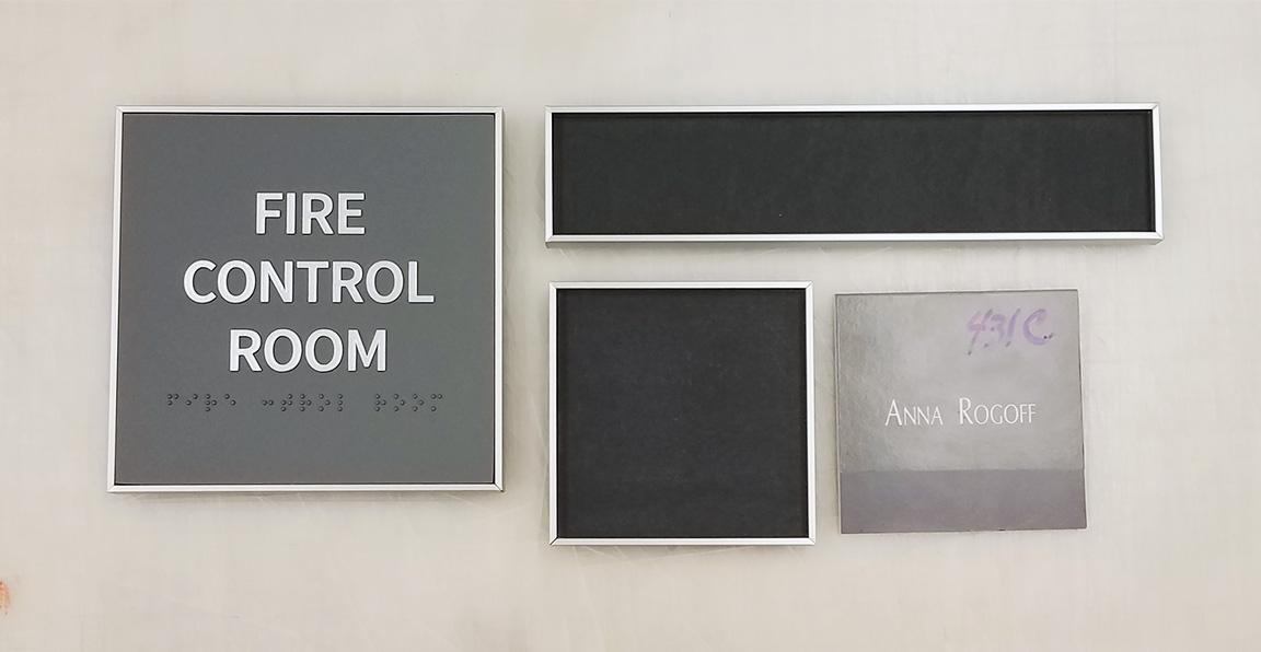 ADA Office Signs & Frames
