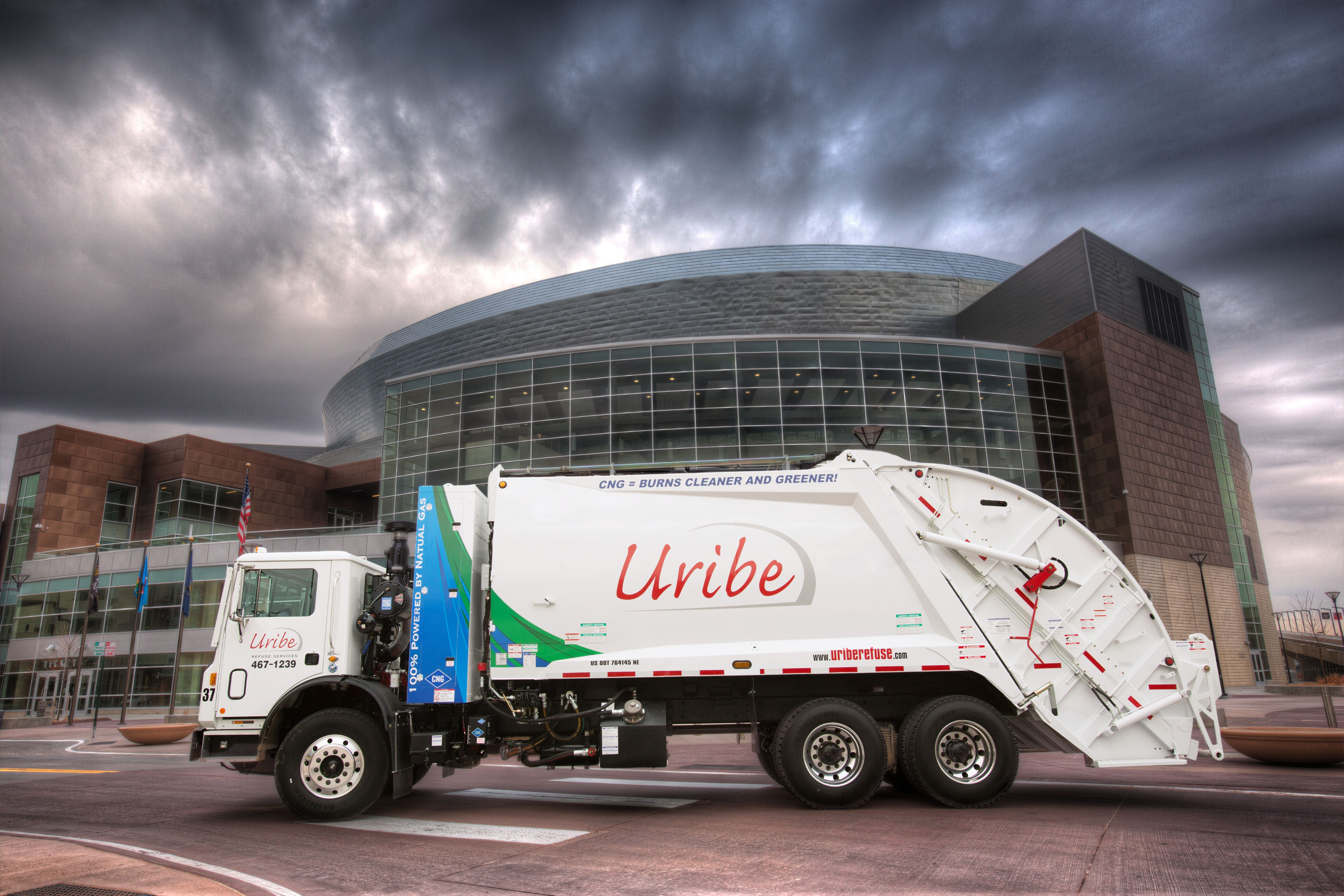 First to have a dedicated (100%) Compressed Natural Gas (CNG) truck in the state of Nebraska
