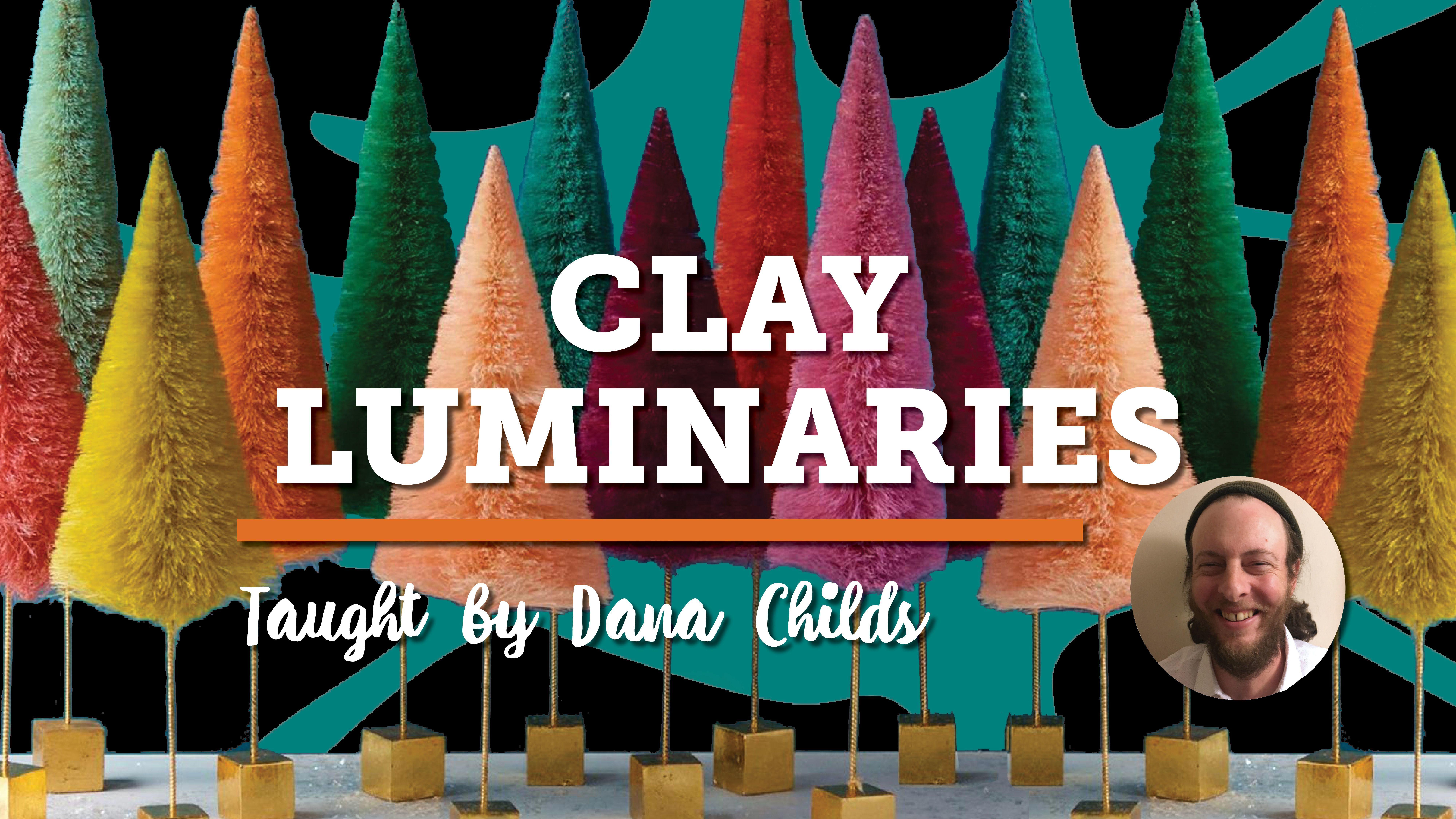 Holiday Class: Clay Luminaries