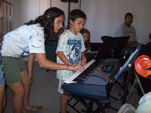 Music Camp 1 Begins: Composing on the Keyboard (Ages 9-14)
