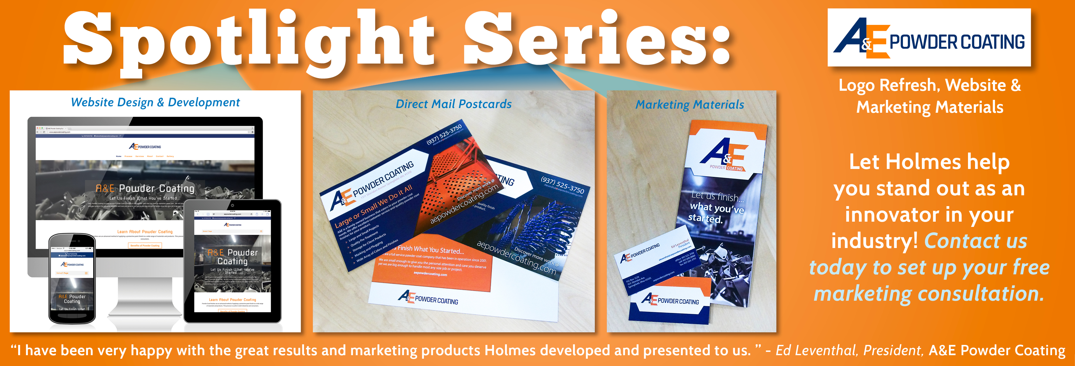 Spotlight Series - A&E Powder Coating