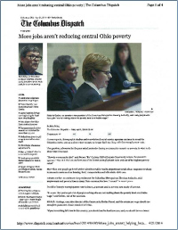 Columbus Dispatch Article~Poverty Summit