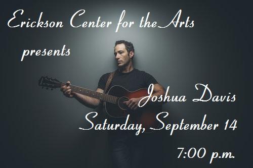 ECA presents An Evening with Joshua Davis