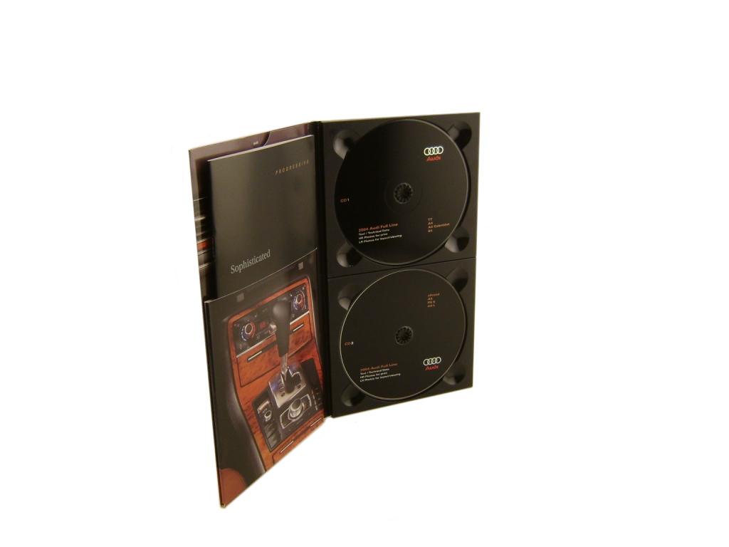2 CD Folder Packaging w/ Pocket