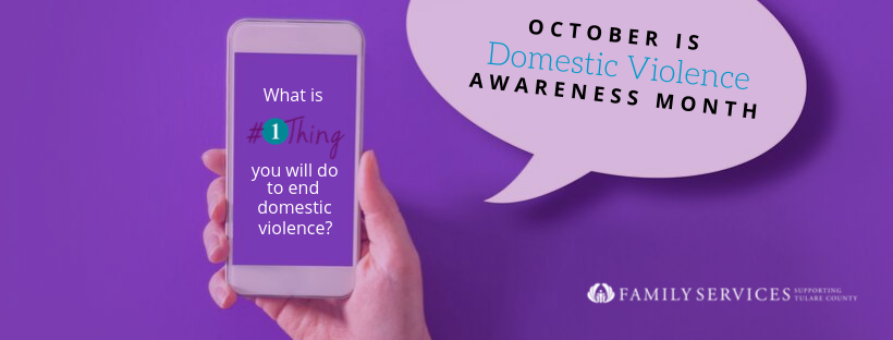 Get Involved for Domestic Violence Awareness Month!