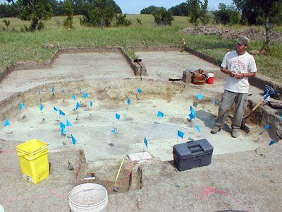 Waning excavation