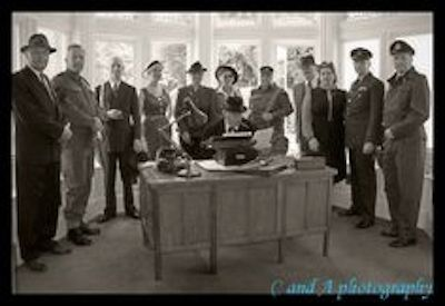1941: Winston Churchill Visited Bletchley Park