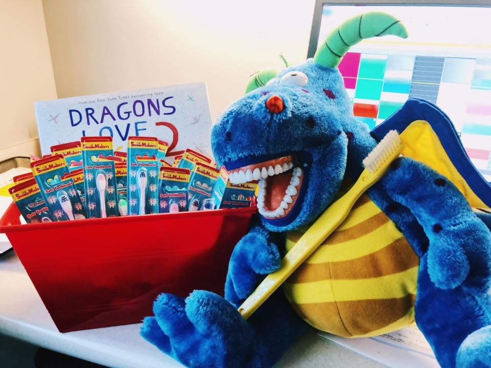 Dragons Love Toothbrushes